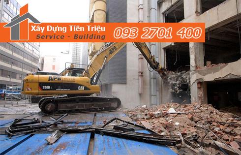Công ty phá dỡ công trình uy tín ở Huyên Hóc Môn.