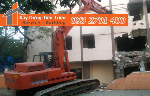 Công ty chuyên phá dỡ công trình Quận 9 Tiền Triệu.