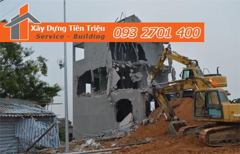 Công ty phá dỡ công trình Quận Tân Bình.