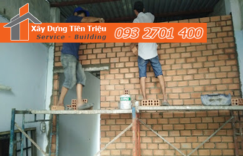 Công ty Tiền Triệu là một trong những địa chỉ có dịch vụ sửa nhà quận 6 trọn gói được rất nhiều khách hàng tin tưởng