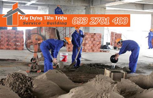 Đội thi công sửa chữa nhà ở tại quận Bình Thạnh
