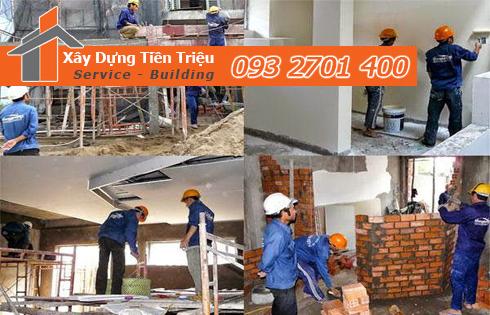 Bạn hãy liên hệ ngay với công ty Tiền Triệu chuyên dịch vụ sửa nhà quận Tân Phú trọn gói giá rẻ nhất, nhanh nhất và chất lượng nhất.