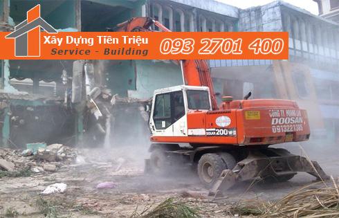 Chuyên đập phá tháo dỡ công trình tại Huyện Củ Chi