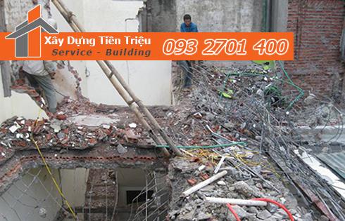 Tháo dỡ đập phá nhà Quận Gò Vấp.