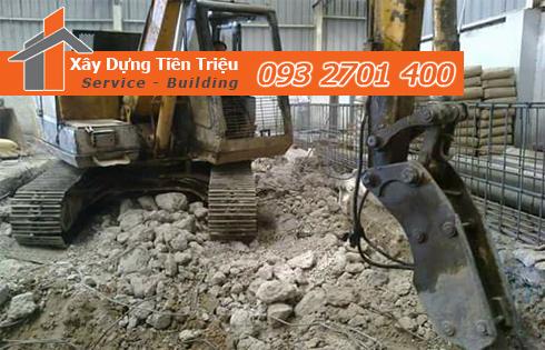 Địa chỉ phá tháo dỡ công trình Quận Tân Phú uy tín.
