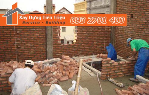 Dịch vụ sửa nhà Huyện Hóc Môn trọn gói Tiền Triệu