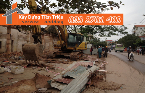Phá dỡ công trình Quận Phú Nhuận bao nhiêu tiền.