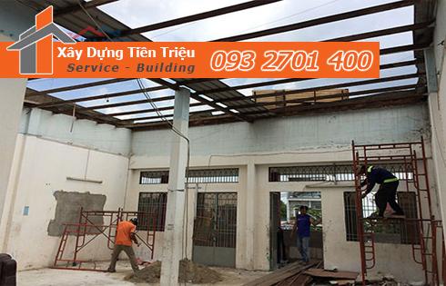 tư vấn trực tiếp về giá cả dịch vụ sửa nhà quận Tân Phú trọn gói