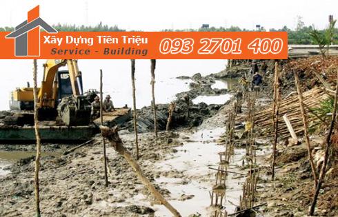 Vựa cừ tràm Quận 12 công ty Tiền Triệu.