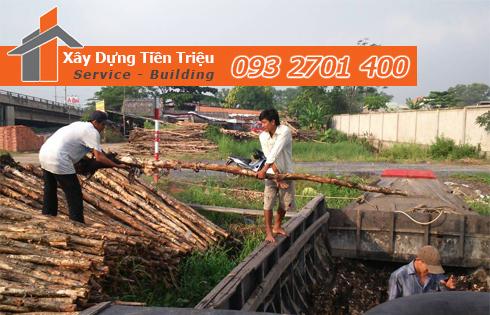 Vựa cừ tràm Quận Bình Tân công ty Tiền Triệu.