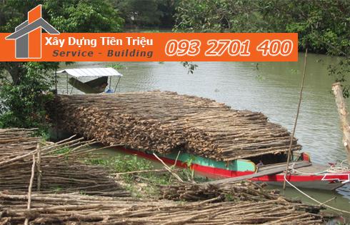 Vựa cừ tràm Quận Gò Vấp công ty Tiền Triệu.