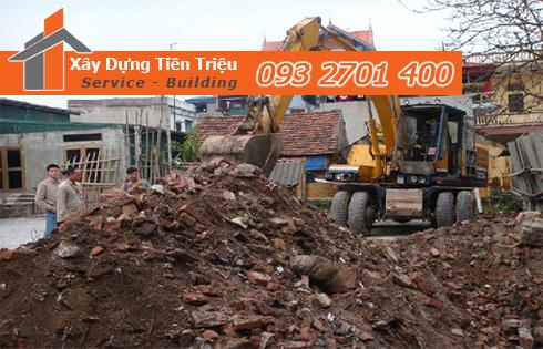 Vận chuyển xà bần Quận Bình Tân giá rẻ.