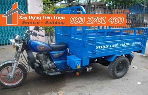 Vận chuyển xà bần Quận Bình Thạnh giá rẻ.