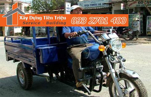 Vận chuyển xà bần Quận Tân Bình giá rẻ.
