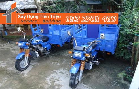 Vận chuyển xà bần Quận Tân Phú giá rẻ.