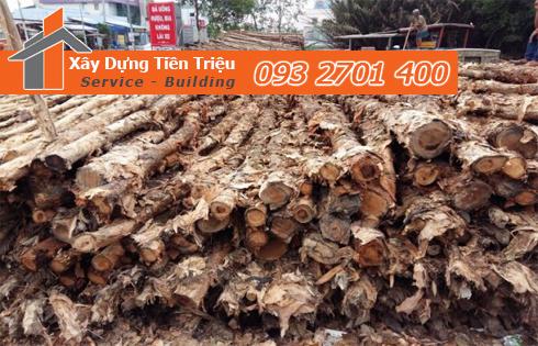 Bán cừ tràm đóng cừ tràm Quận Bình Tân trọn gói.