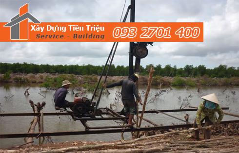 Bán cừ tràm đóng cừ tràm Biên Hòa Đồng Nai trọn gói.