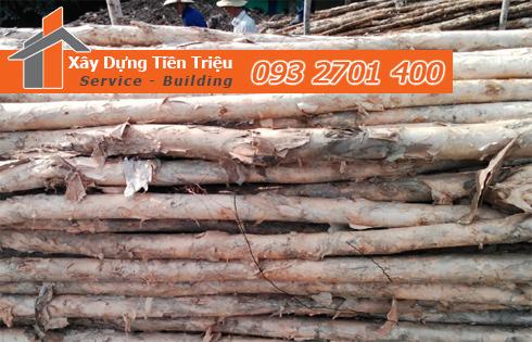Bán cừ tràm đóng cừ tràm Quận Tân Phú trọn gói.