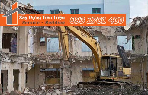 Thu mua xác nhà cũ nát ở Huyện Bình Chánh.