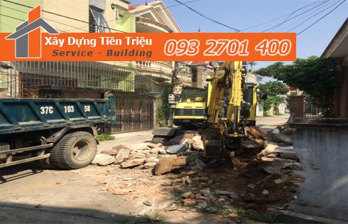 Thu mua xác nhà cũ nát ở Quận Bình Tân.