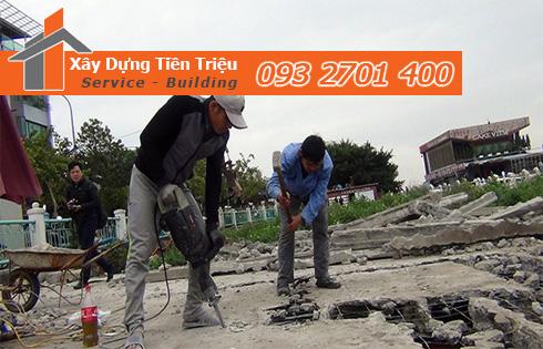 Thu mua xác nhà cũ nát ở Quận Bình Thạnh.