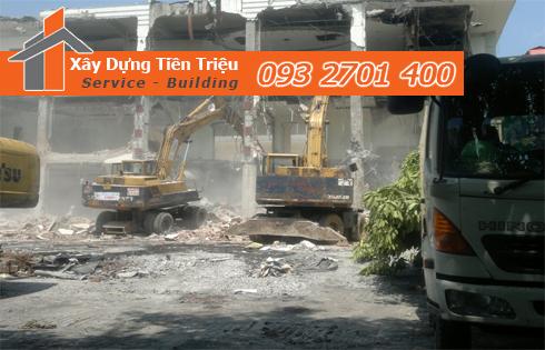 Thu mua xác nhà cũ nát ở Quận Tân Phú.