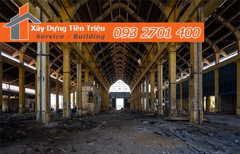 Thanh lý nhà xưởng cũ Quận Tân Phú giá cao.