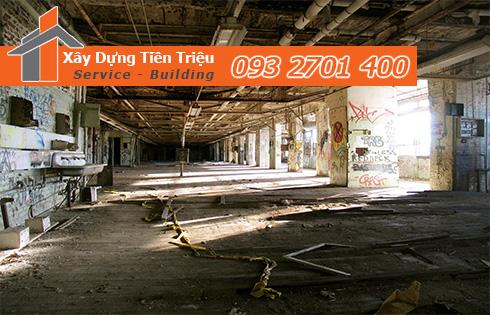Thu mua xác nhà kho nhà xưởng Quận Tân Phú CTY Tiền Triệu.