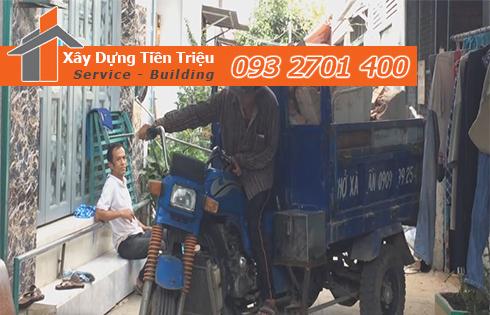 Hốt xà bần Huyện Củ Chi trọn gói công ty Tiền Triệu.