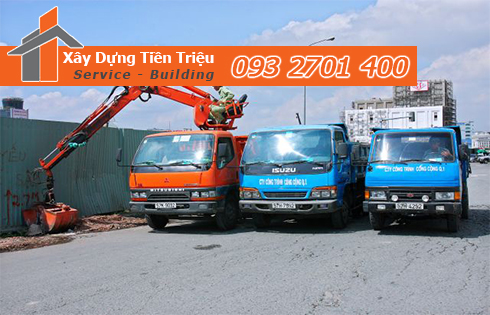 Hốt xà bần Quận 10 trọn gói công ty Tiền Triệu.