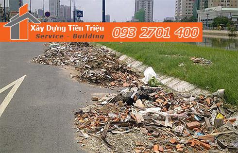 Hốt xà bần Quận 12 trọn gói công ty Tiền Triệu.