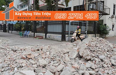 Hốt xà bần Quận Gò Vấp trọn gói công ty Tiền Triệu.