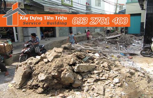Hốt xà bần Quận Phú Nhuận trọn gói công ty Tiền Triệu.