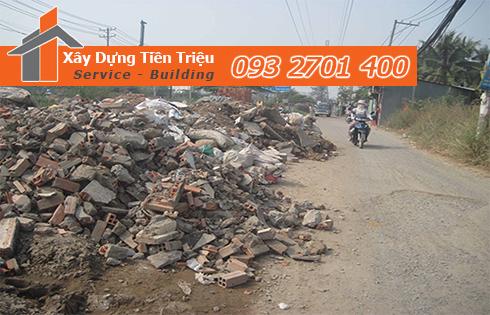 Hốt xà bần Quận Thủ Đức trọn gói công ty Tiền Triệu.