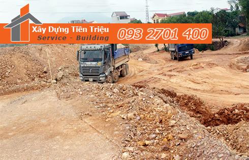 Xan lấp mặt bằng Quận Bình Tân giá rẻ.