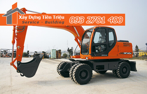 Đào đất móng công trình bằng cơ giới Huyện Bình Chánh.