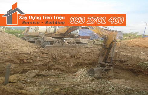 Xây dựng Tiền Triệu nhận thi công đào đất móng công trình Quận 1 uy tín.
