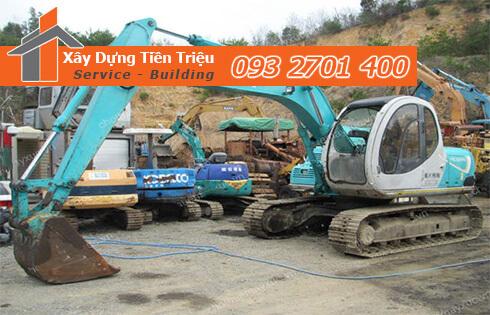 Ở Long An Công Ty Tiền Triệu chuyên nhận thi công đào móng công trình lớn nhỏ tại Long An
