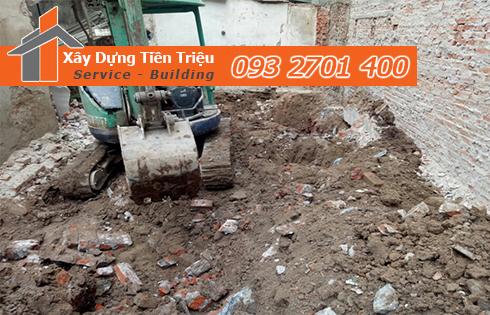 Xây dựng Tiền Triệu nhận thi công đào đất móng công trình Huyện Cần Giờ uy tín.