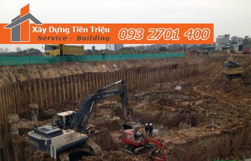 Xây dựng Tiền Triệu nhận thi công đào đất móng công trình Biên Hòa Đồng Nai uy tín.