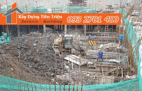 Xây dựng Tiền Triệu nhận thi công đào đất móng công trình Huyện Hóc Môn uy tín.
