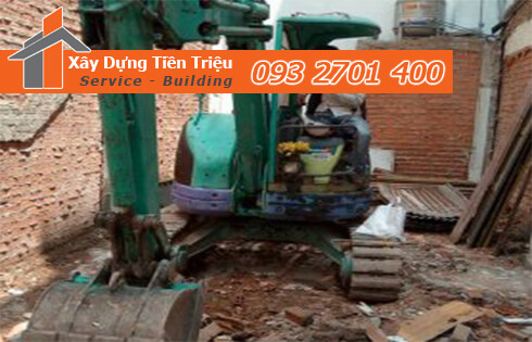 Công ty Tiền Triệu nhận thầu đào móng công trình ở Quận Phú Nhuận.