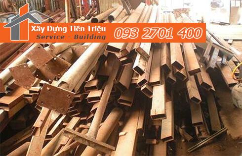 Bảng giá thu mua phế liệu sắt thép Đồng Nai