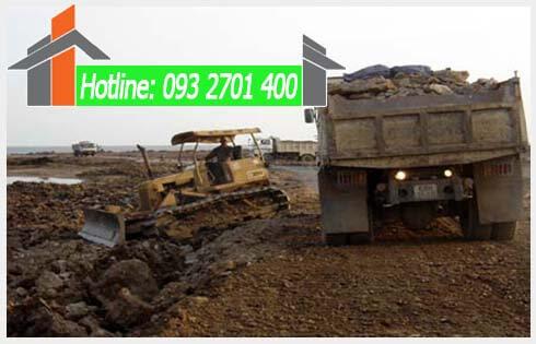 Giá 1m3 đất san lấp là bao nhiêu tiền ở Quận Tân Phú