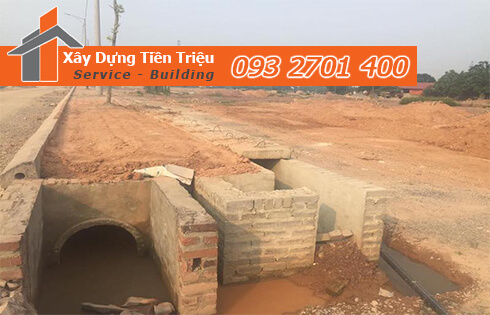 Xây dựng kỹ thuật hạ tầng đường ống cống thoát nước Đắc Nông.