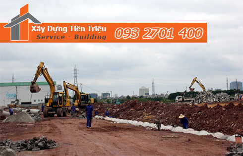 Hoàn thiện cơ sở hạ tầng thi công cơ giới Quảng Bình.