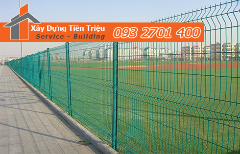 Nhận thi công hàng rào lưới B40 trọn gói ở Quận Tân Bình.