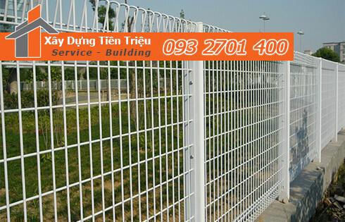 Xây Dựng Tiền Triệu nhận thi công hàng rào lưới b40 Quận 1.