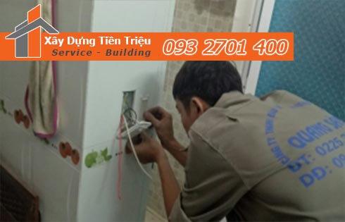 Đội ngũ thợ chuyên sửa chữa điện nước tại nhà Tiền Triệu đảm bảo: