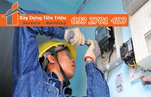 dịch vụ thi công sửa chữa điện nước giá rẻ Bình Dương
